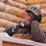 Sawing Logs