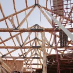 Inside View of Trusses & Purlins