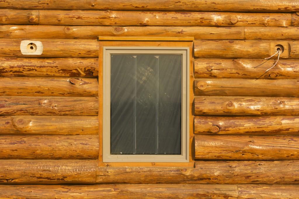 Log Walls