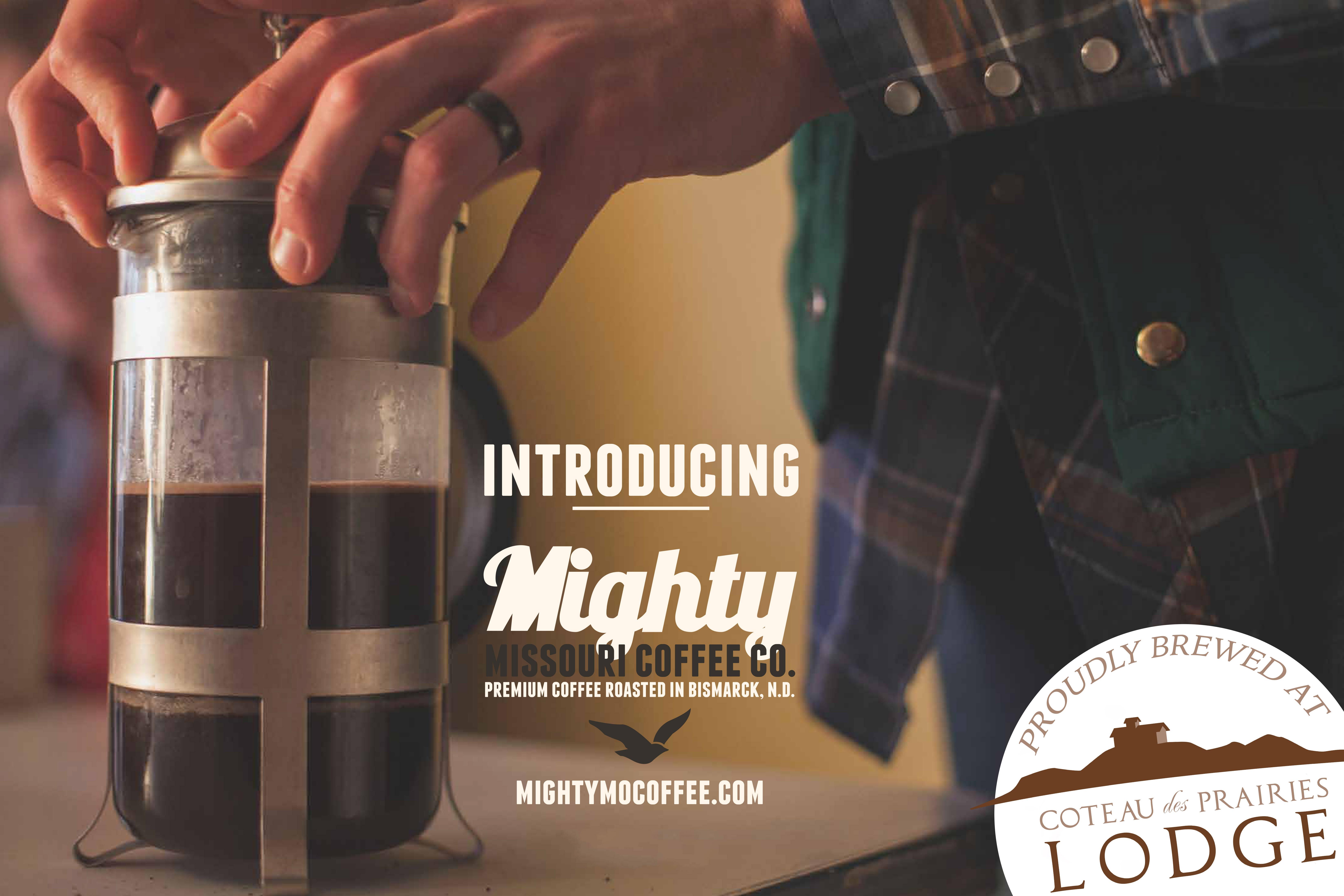 Mighty Missouri Coffee Company at Coteau des Prairies Lodge