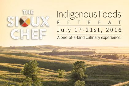 Indigenous Foods Retreat Poster 4x6