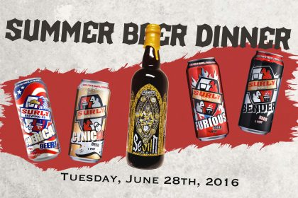 Surly Beer Dinner Poster 4x6
