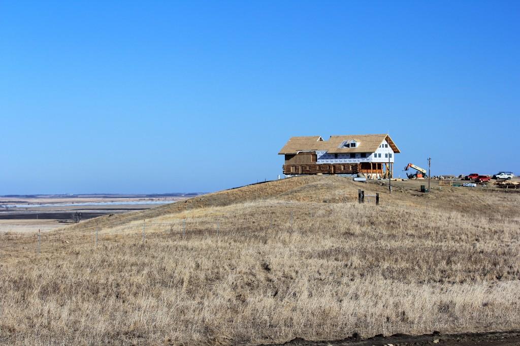 Roof Construction Coteau Des Prairies Lodge