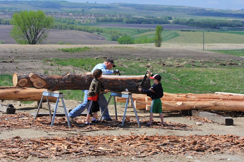 Log Peelers