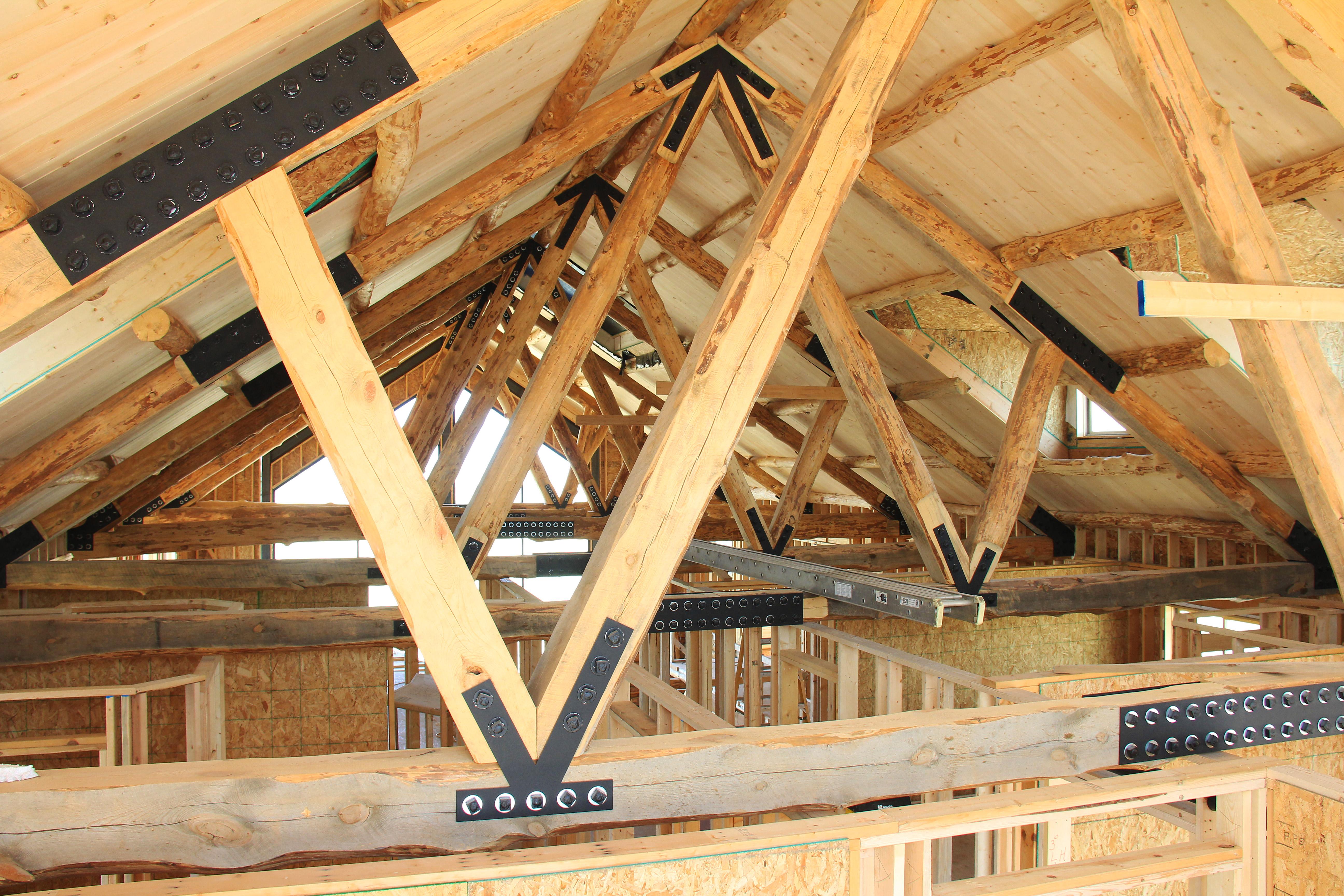 Roof Trusses Coteau Des Prairies Lodge