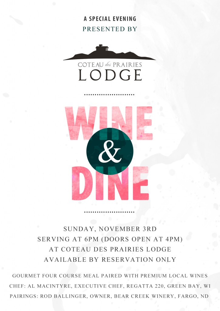 Wine & Dine Invite