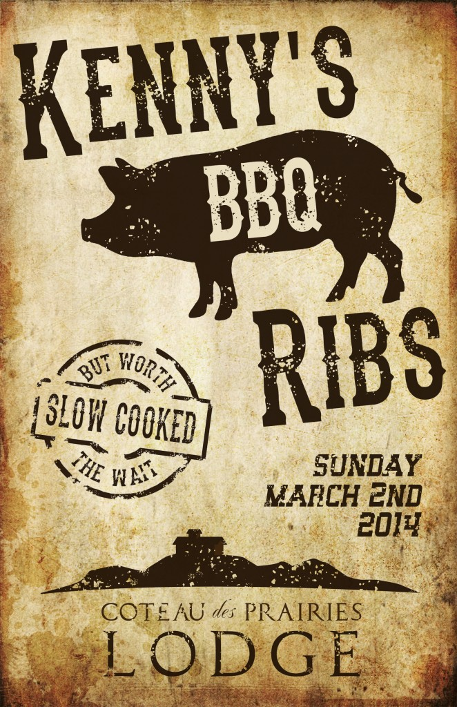 Kenny's BBQ Ribs poster