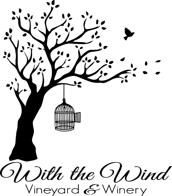 black writing logo