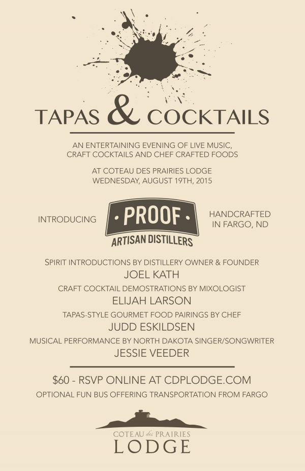 Tapas & Cocktails Poster