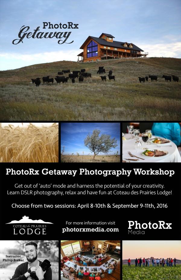 PhotoRx Getaway 2016 Flier web