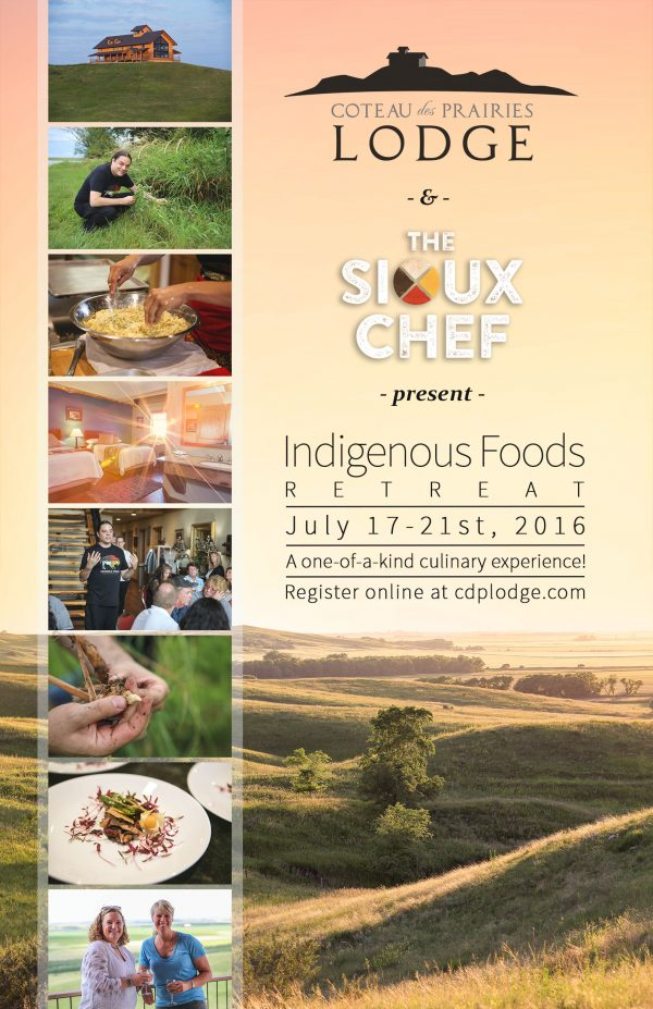 Indigenous Foods Retreat 2016 Poster